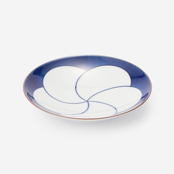 白山陶器 ねじり梅 5寸和皿