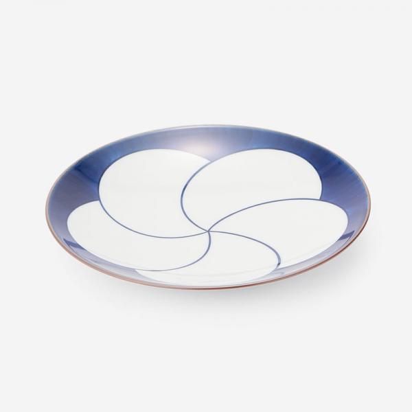 白山陶器 ねじり梅 6寸和皿