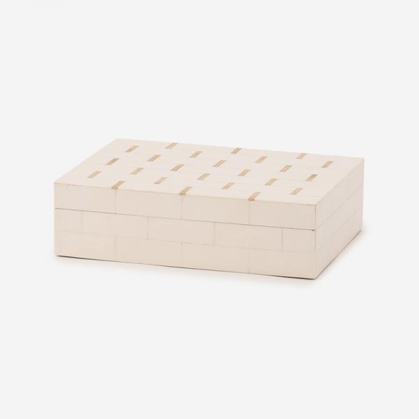 レジンブラスボックス Lサイズ ホワイト