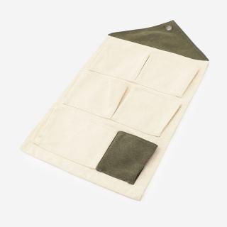 KIDS HOUSE ウォールポケット ホワイト+グリーン