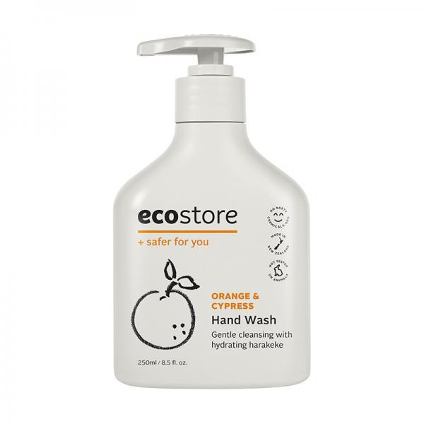 ecostore ハンドウォッシュポンプ オレンジ&サイプレス 250ml