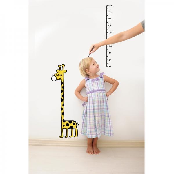 Giraffe measure ウォールステッカー