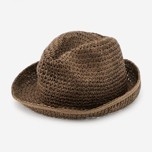 launch CAARRY HAT ブラウン