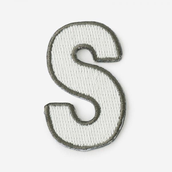 One's initials ワッペン S