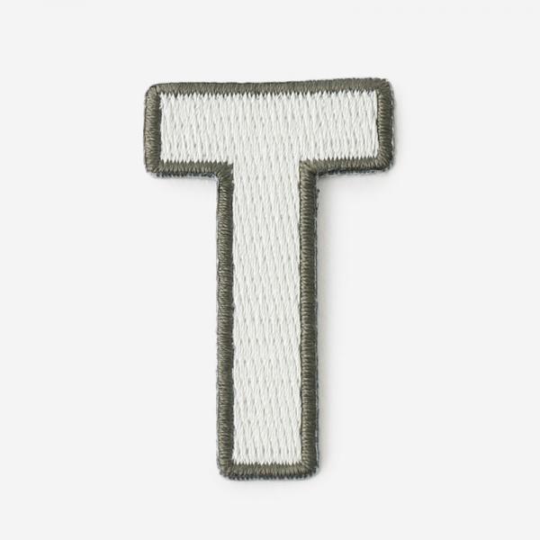 One's initials ワッペン T