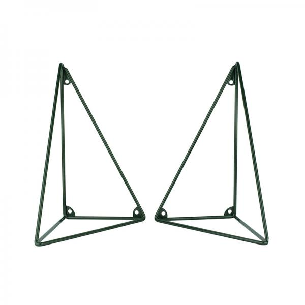 PYTHAGORAS BRACKETS RACING GREEN