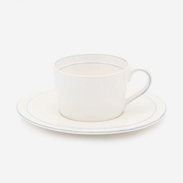 VINTAGE COLOR CERAMIC カップ&ソーサー ホワイト