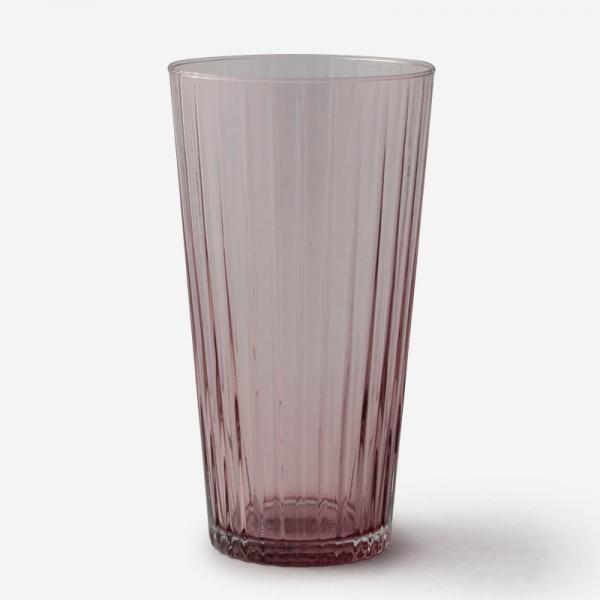ハンドメイドガラスベース RIB Mサイズ パープル