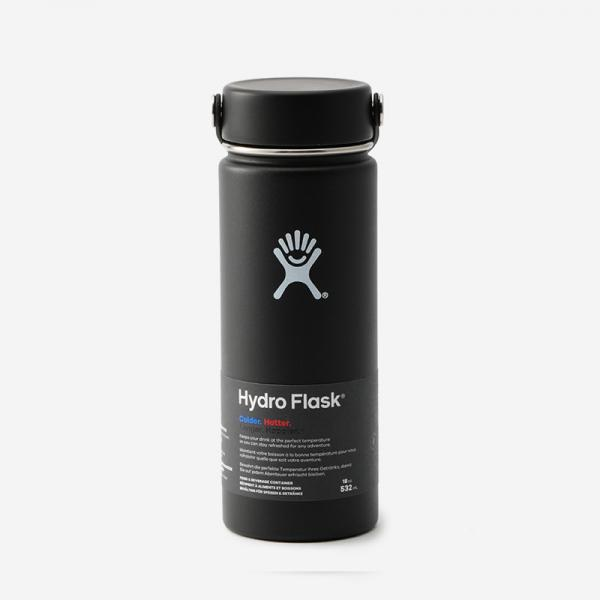 Hydro Flask Hydration 18oz ブラック