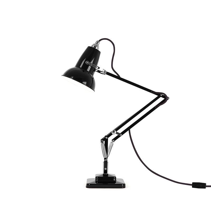 ANGLEPOISE 1227 MINI DESK LAMP JET BLACK