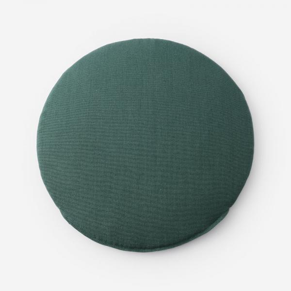 SHERWOODチェアパッド R39cm グリーン
