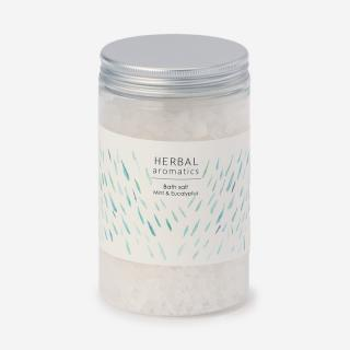 HERBAL aromatics バスソルト ミント&ユーカリ