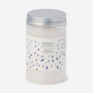 HERBAL aromatics バスソルト ラベンダー&ウッド