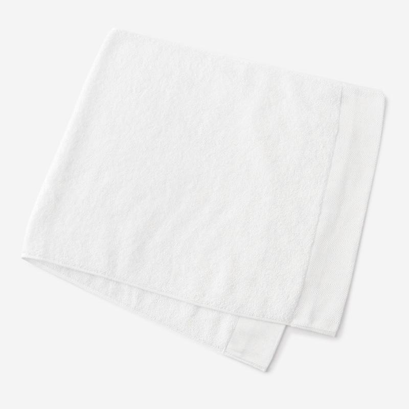 EVERY 17AW フェイスタオル ホワイト 34×80cm