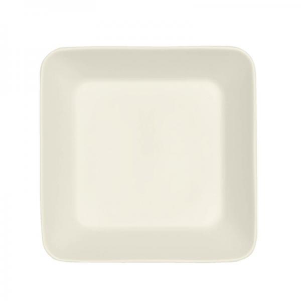 TEEMA スクエアプレート 16cm ホワイト(016459)