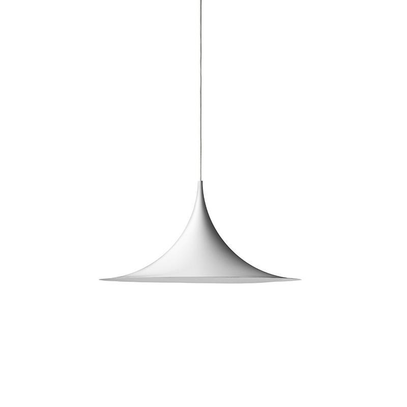 SEMI PENDANT LAMP R47 WHITE