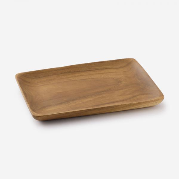 Teak Wood トレー 18×12.7cm